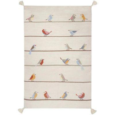 Tapis enfant Kilim petits oiseaux (140 x 200 cm) Art for Kids