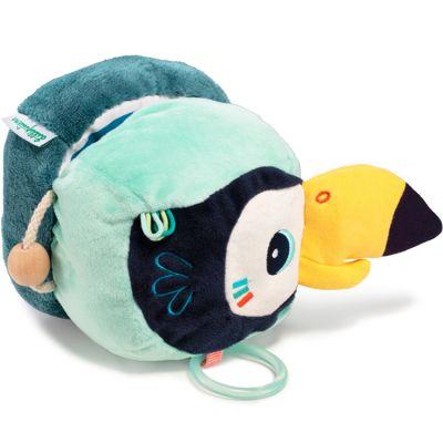 Livre bébé Pablo le toucan découvertes  par Lilliputiens