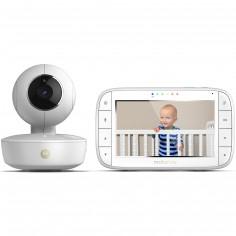 Moniteur bébé vidéo avec écran 5.0 et caméra portable