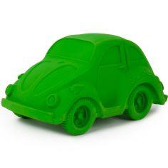 Grande voiture Coccinelle latex d'hévéa verte