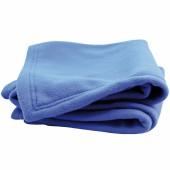 Couverture polaire Polex bleu azur Doux Nid (70 x 80 cm)  - Doux Nid