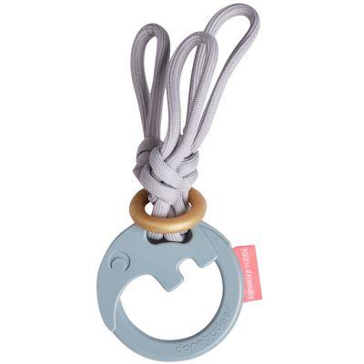 Hochet anneau de dentition à cordes Antee le tapir  par Done by Deer