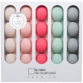 Coffret guirlande lumineuse à LED clipsable Premium Joan - La case de cousin paul