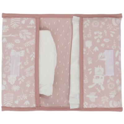 Pochette de change Adventure pink  par Little Dutch