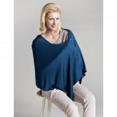 Tee-shirt/écharpe d'allaitement Bleu - Lässig