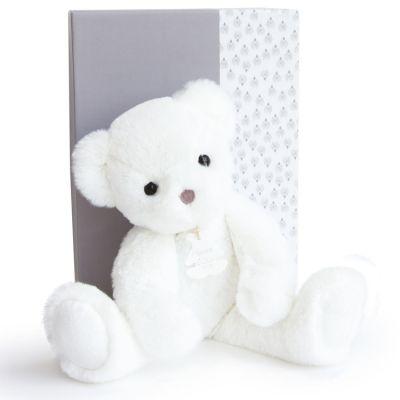 Coffret peluche Ours Moonlight Les ours poudrés blanc (38 cm)  par Histoire d'Ours