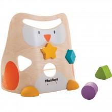 Trieur de formes Hibou  par Plan Toys
