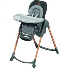 Chaise haute évolutive Minla Essential Graphite grise