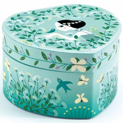 Boîte à bijoux musicale Danseuse en herbe  par Djeco