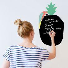 Sticker mural pense-bête en ardoise Coco  par Mimi'lou