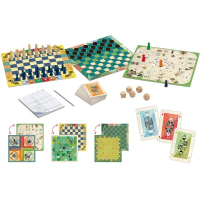 Jeux de société Classic box  par Djeco