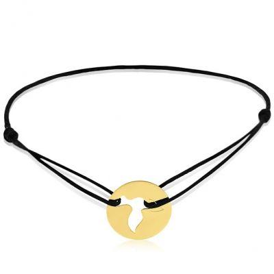 Bracelet cordon enfant Colombe (or jaune 750°)  par A.Augis