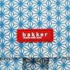 Petit cartable canvas Turquoise  par Bakker made with love