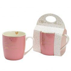 Mug rose Chic mamie