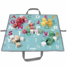 Blocs de construction Kubix lettres et chiffres (40 cubes)