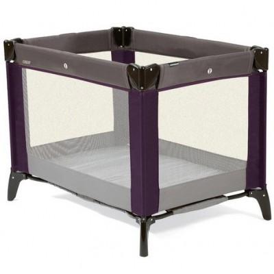 lit parapluie classic travel violet et gris. Black Bedroom Furniture Sets. Home Design Ideas