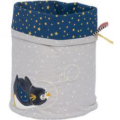 Panier de toilette pingouin Les Nanouks (19 x 15 cm)