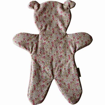 Doudou plat ours  Liberty Eloise (33 cm) Le petit rien