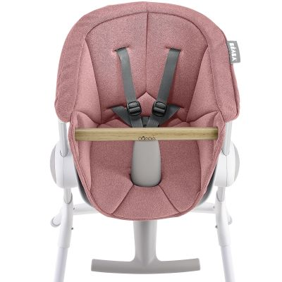 Assise Chaise haute Up&Down rose clair  par Béaba