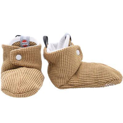 Chaussons en coton Ciumbelle  miel (6-12 mois)  par Lodger