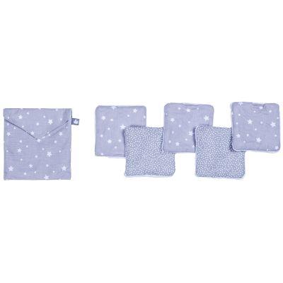 Lot de 5 lingettes lavables Une étoile est née (10 x 10 cm)  par BB & Co