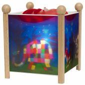 Lanterne magique ''Elmer l'Eléphant'' naturel - Trousselier