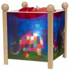 Lanterne magique ''Elmer l'Eléphant'' naturel
