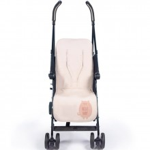 Assise de protection universelle pour poussette Hello Baby rose clair  par Walking Mum
