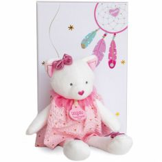 Coffret peluche Chat Attrape-rêves (20 cm)