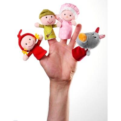 Marionnettes à doigts Petit chaperon rouge  par Lilliputiens