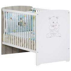Lit bébé têtes panneaux Teddy (60 x 120 cm)