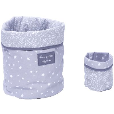Lot de 2 paniers de toilette Etoiles  par BB & Co