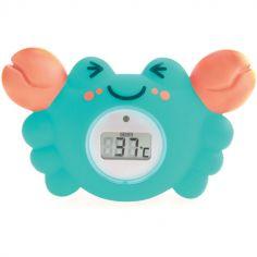 Thermomètre de bain digital crabe