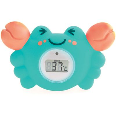 Thermomètre de bain digital crabe  par Tigex