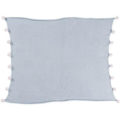Couverture bébé Bubbly Soft bleue (100 x 120 cm)  par Lorena Canals