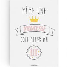 Affiche A3 Princesse