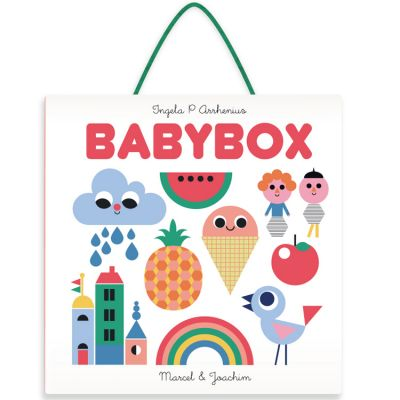 Babybox : 4 mini livres + mobile, Ingela P. Arrhenius  par Marcel et Joachim