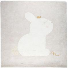 Tapis carré en coton bio Lina & Joy (120 x 120 cm)