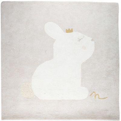 Tapis carré en coton bio Lina & Joy (120 x 120 cm)  par Noukie's