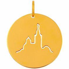 Médaille Notre-Dame de la Garde (or jaune 18 carats)