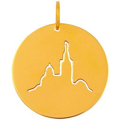 Médaille Notre-Dame de la Garde (or jaune 18 carats)  par Maison La Couronne