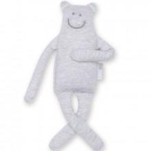 Peluche Guili en jersey mixed grey (27 cm)  par Bemini