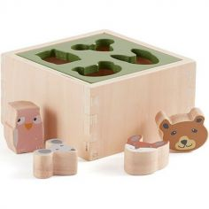 Boîte à formes en bois Edvin