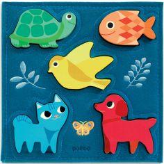 Puzzle à encastrement Gataki (5 pièces)