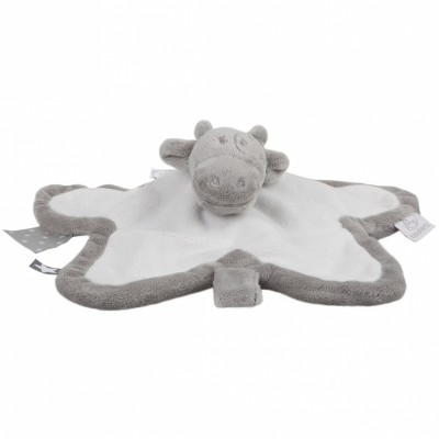 Doudou plat vache Lola Tidou étoile Poudre d'étoiles (34 cm) Noukie's