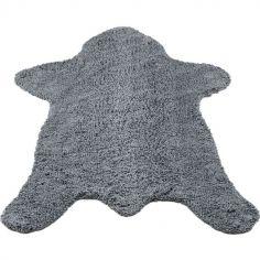 Tapis ours gris (150 x 110 cm)