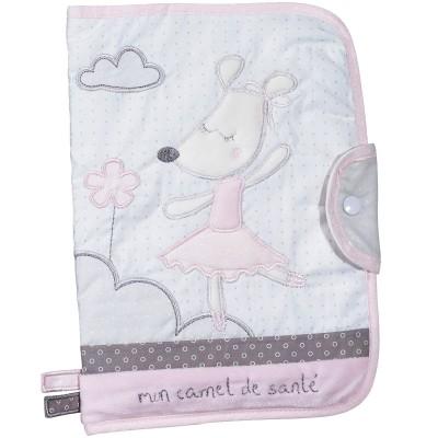 Protège carnet de santé Lilibelle  par Sauthon Baby Déco
