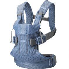 Porte bébé One Air tissu Mesh 3D Bleu ardoise
