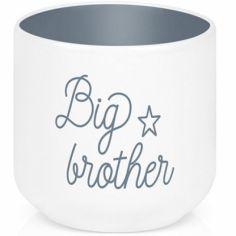 Coquetier en porcelaine Big brother