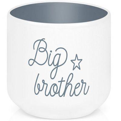 Coquetier en porcelaine Big brother Créa Bisontine